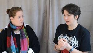 Nadine Englhart bei einem Nachmittag bei Emmanuelle | Screenshot