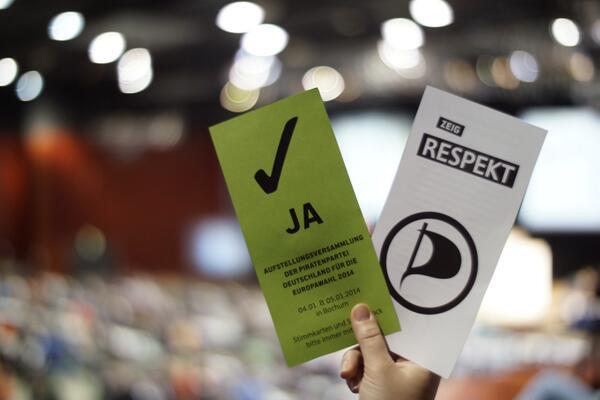 Kandidatenwahl EU-Parlament 2014 - Foto: @_rony CC-BY-NC-SA