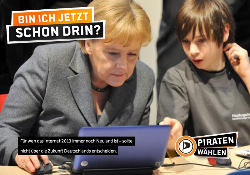 Merkels Neuland