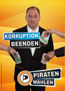 Korruption beenden