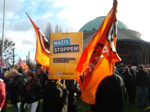 Nazis stoppen! AfD Parteitag in Hannover.