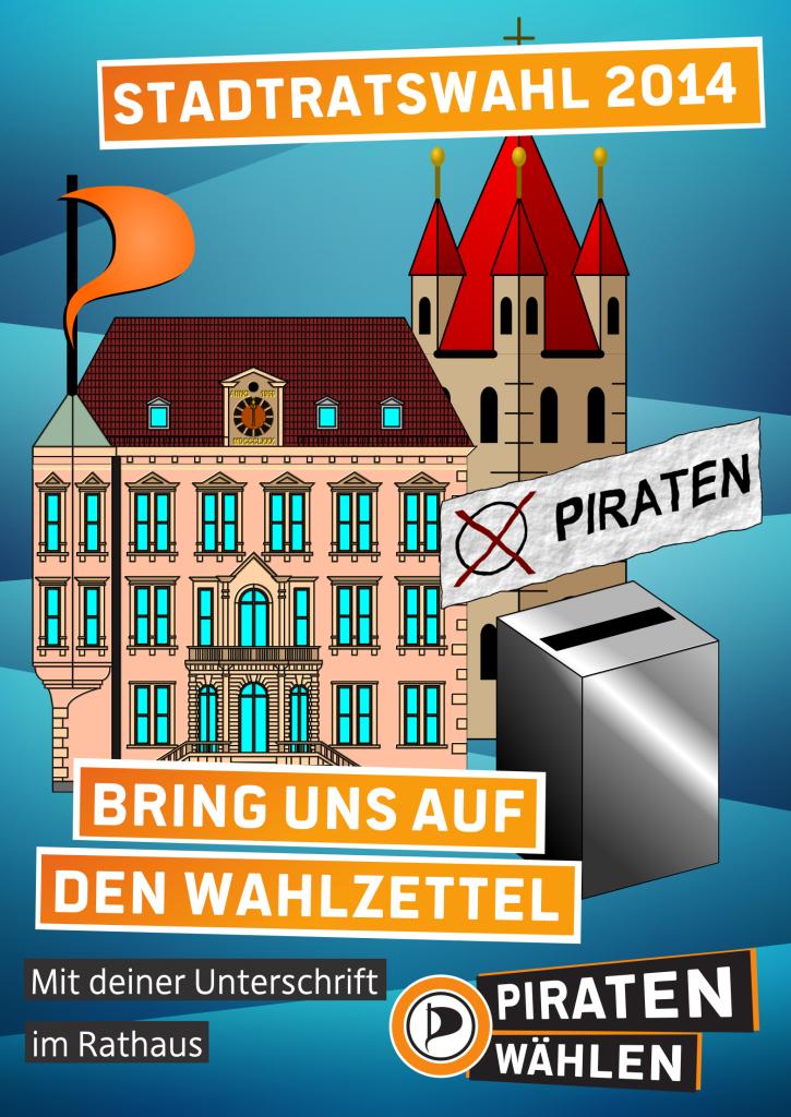 Unterstützerunterschriften Stadtratswahl 2014